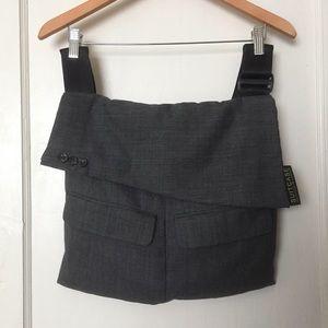 Suit Case Messenger Bag